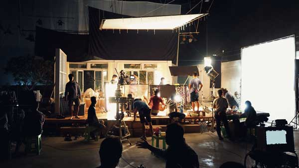 making-movie-video-big-production-studio-film-crew-team-shooting-recording-by-professin